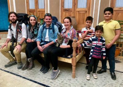 guests and kids of Delkhash
